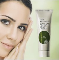 Крем массажный для лица «Hemp cream Face 1753 cosmetics», 75 мл